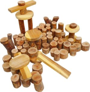 Assorted Tree Blocks (108pcs)-0