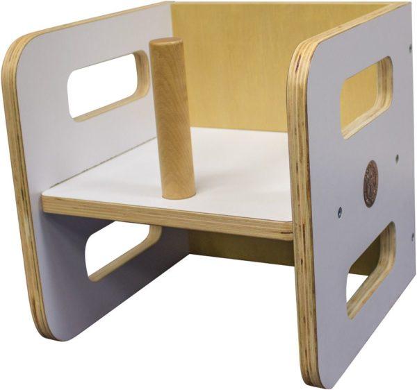 Scandinavian 3-In-1 Wooden Chair-12182