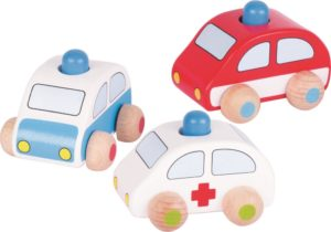 Wooden Emergency Vehicles (3pcs)-0