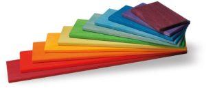 Rainbow Building Boards (11pcs)-0
