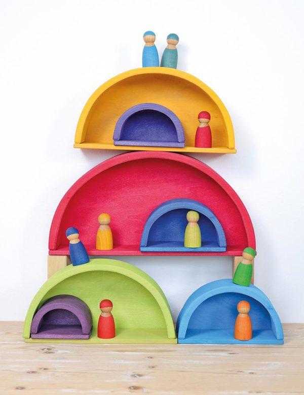 Rainbow Building Set (38pcs)-0