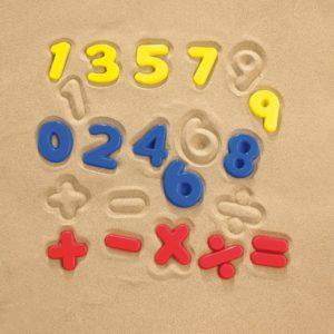 Number Sand Moulds (26pcs)-0