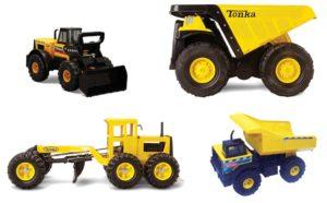 Tonka Construction Set (4pcs)-0