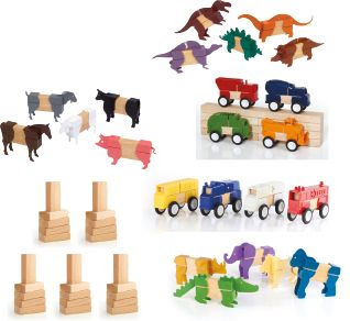 Block Mates & Block Set (117pcs)-0