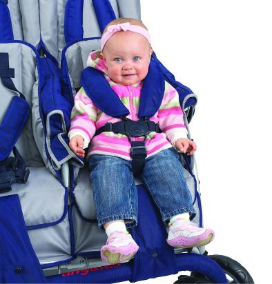 Bye-Bye Stroller 4-Seater Safe Stop-13690