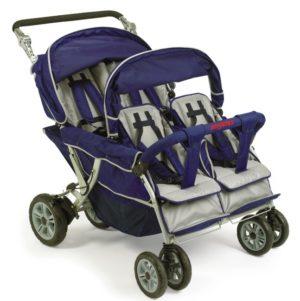 Bye-Bye Stroller 4-Seater Safe Stop-0