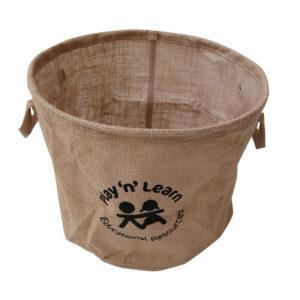 Natural Storage Basket Round