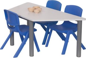 Heavy Duty Trapezoid Table-0
