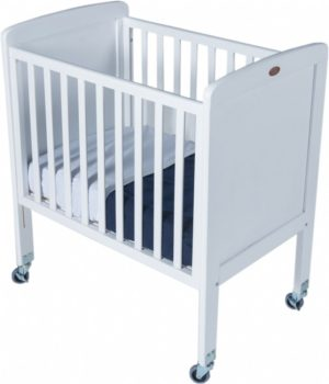 Tiny Tots Drop-Side Cot White-0