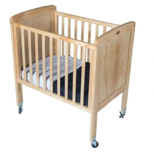 Tiny Tots Drop-Side Cot With Plywood Ends-0