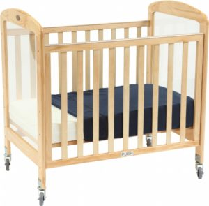 Tiny Tots Drop-Side Cot With Perspex Ends-0
