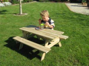 Tiny Tots Picnic Table-0