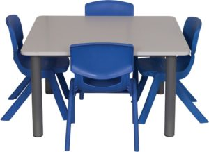 Heavy Duty Square Table-0