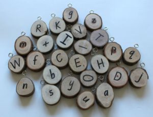 Natural Branch Letters (26pcs)-0