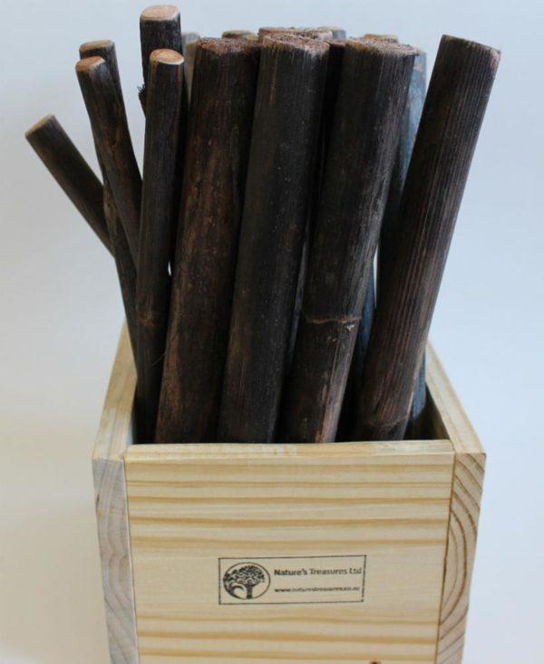 Natural Rakau Sticks (20pcs)-0
