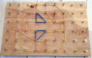 Natural Small Peg Board-0