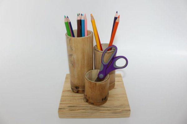 Natural Bamboo Holder Group-0