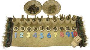 Natural Loose Parts Numbers Set-0