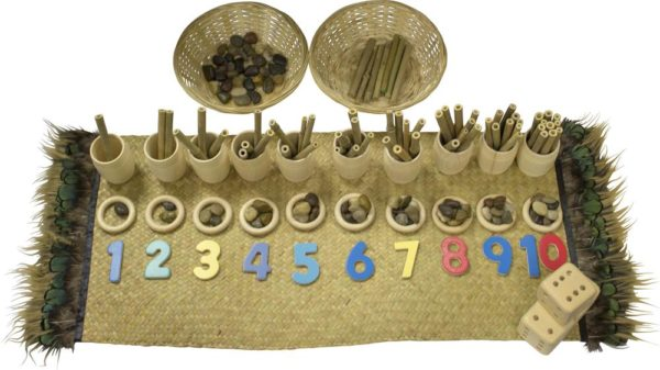Natural Loose Parts Numbers Set-0