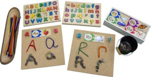 Natural Loose Parts Literacy Set-0
