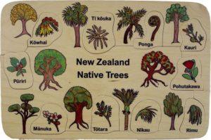 NZ Native Trees Puzzle (10pcs)-0