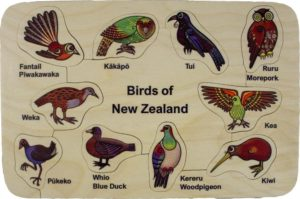 Birds of NZ Puzzle (10pcs)-0