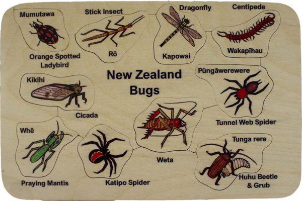 NZ Bugs Puzzle (10pcs)-0