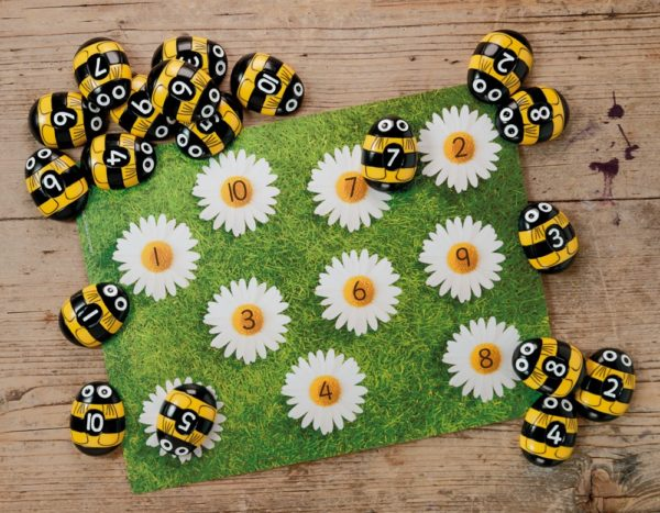 Honey Bee Early Number Cards (16pcs)-0