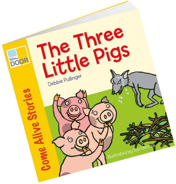 The Three Little Pigs Big Book-0