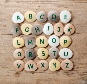 Alphabet Pebbles Uppercase (26pcs)-0