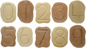 Feels-Write Number Stones (10pcs)-0