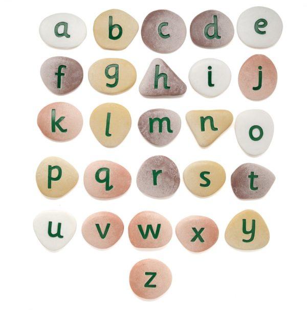 Jumbo Alphabet Pebbles (26pcs)-0