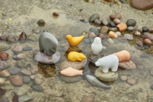 Sensory Play Stone Animals (8pcs)-0