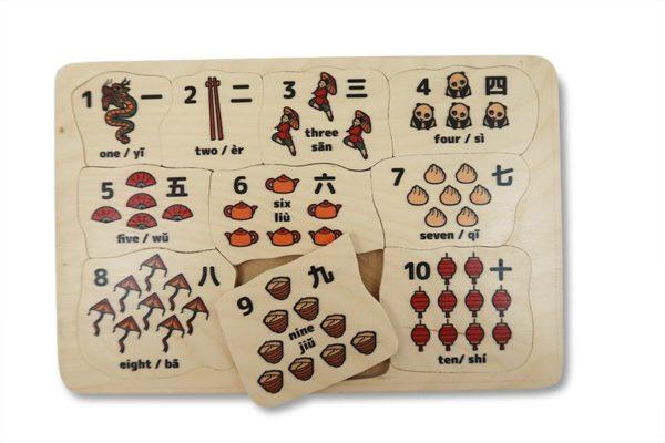 Counting 1-10 Mandarin (10pcs)-0