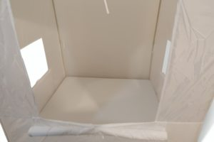 White Light Tent & Mattress Set (2pcs)-0