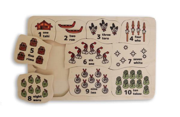 Counting one ten Maori