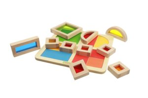 Rainbow Block Puzzle Board (10pcs)-0