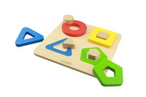 Shape Matching Puzzle (4pcs)-0
