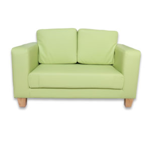 Arbor Preschool Couch - Lime-0