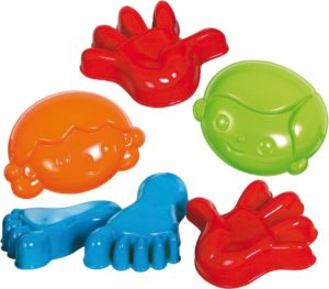 Hand, Feet and Face Sand Moulds (6pcs)-0