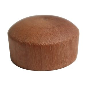 Small Oval Wood Plug-0