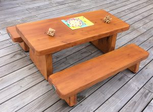 Macrocarpa extra small table